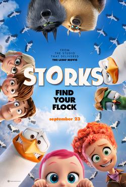 """Storks"" Movie Review"
