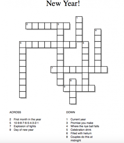 New Year Crossword