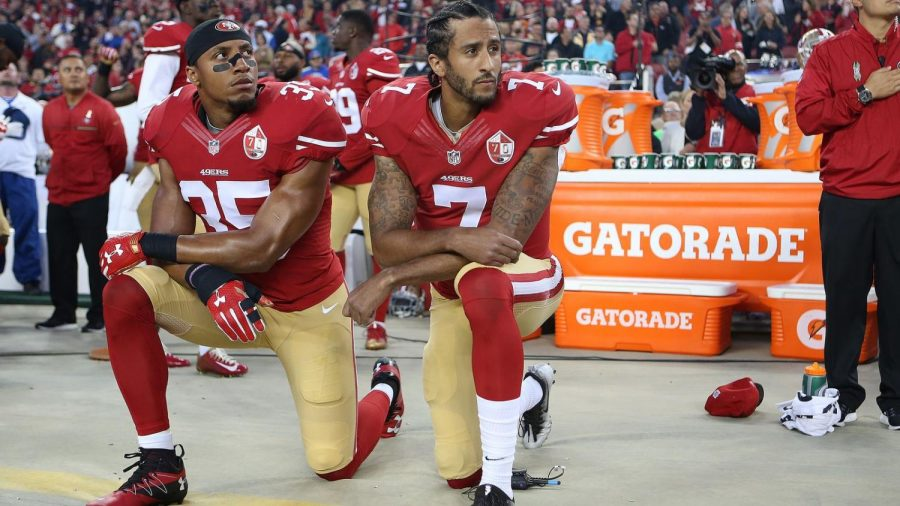 Standing for Anthem a Point of Contention