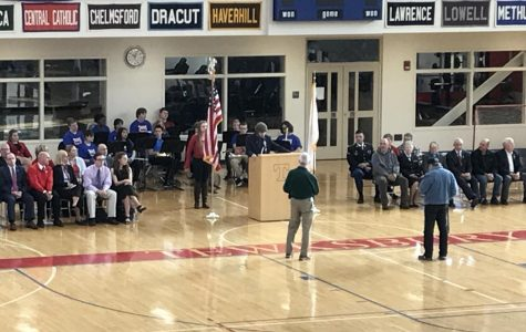 Veterans Day Celebration Features Two of Tewksbury's Finest!