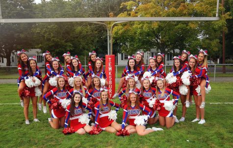 Tewksbury Memorial High School Cheerleading