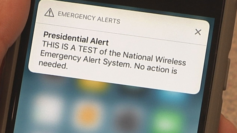Presidential Alert Hits 225 Million Phones Across America