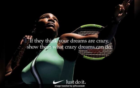 "Serena Williams Encourages Girls to ""Dream Crazier"""