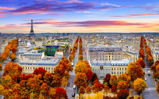 Autumn Travel In Europe